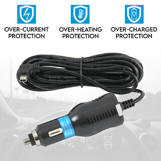 Car Cigarette Charger Lighter for Dash Cam Camera Video DVR Recorder 12V 24V