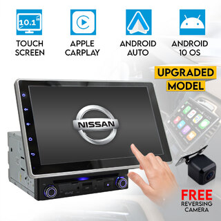 "Nissan 10.1"" In Dash Car DVD Player Android 8 Stereo Double 2 DIN GPS WiFi BT Head Unit"