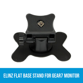 Elinz Flat Base Stand for GEAR7 Monitor