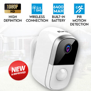 Wireless IP Camera 1080P WiFi Security CCTV Wire-Free Battery Waterproof Smart