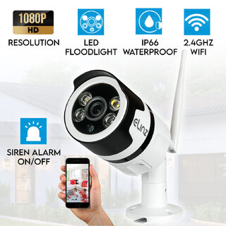 Wireless WiFi IP Security Camera Outdoor 1080P CCTV Waterproof LED Floodlight