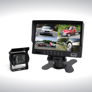 "7"" Quad Monitor Splitscreen with 1 Camera Package"