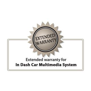 Extended warranty for in dash car multimedia system